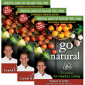 Go Natural: Wisdom for Healthy Living - 6 X books special