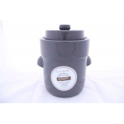 3L Fermentation Crock Pot (Grey)