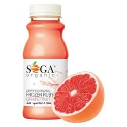Organic Frozen Grapefruit Juice (250ml) Soga