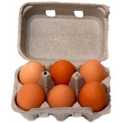 Farmer Angus - Pasture Reared Eggs Half Dozen (Jumbo)