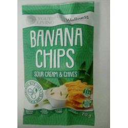 Banana Chips Sour Cream & Chives