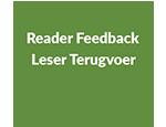 Reader Feadback